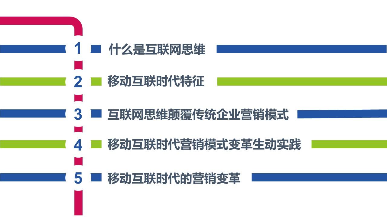 互联网思维主题PowerPoint模板下载_预览图2