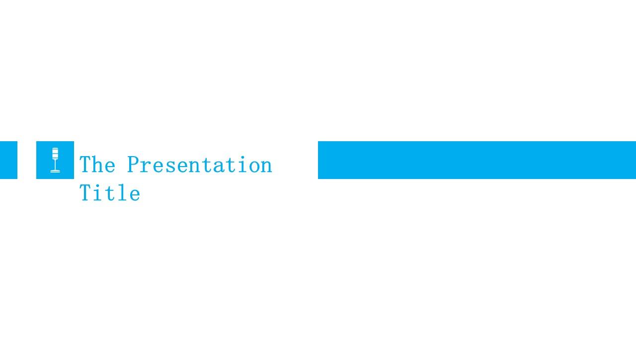 团队介绍简洁PPT模板下载_预览图1