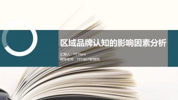 调研报告类型的PPT模板下载