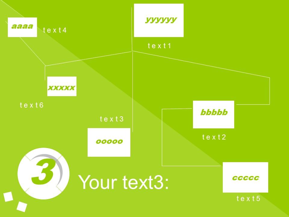 可爱清新多色可选PPT模板下载_预览图5