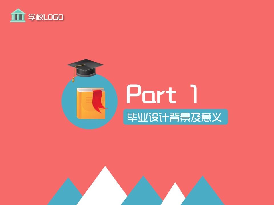毕业论文答辩PPT模板下载_预览图3