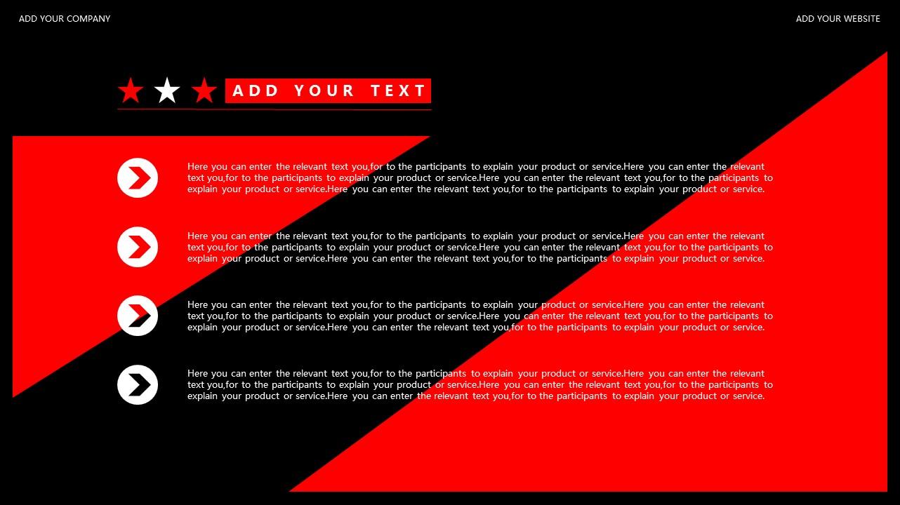 红与黑商务通用简洁PPT模板下载_预览图6
