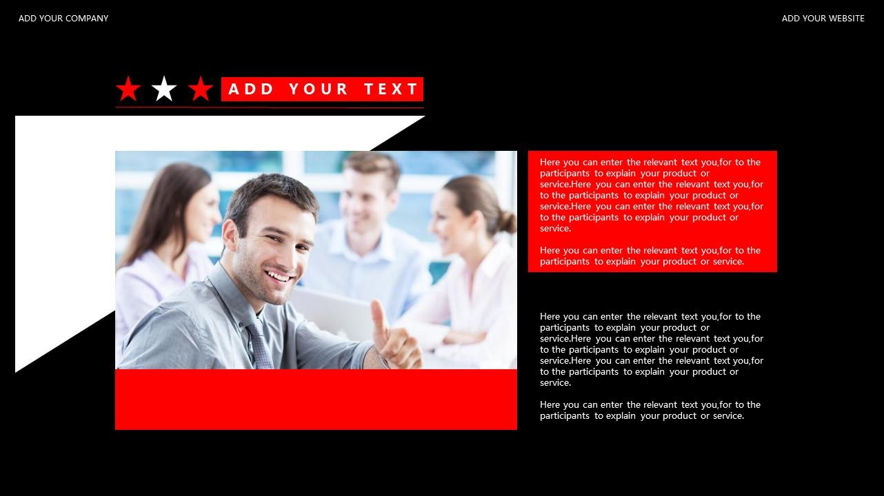 红与黑商务通用简洁PPT模板下载_预览图30