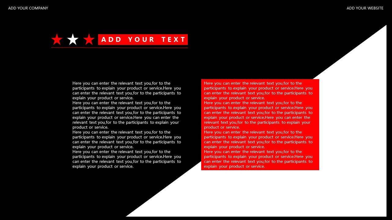 红与黑商务通用简洁PPT模板下载_预览图25