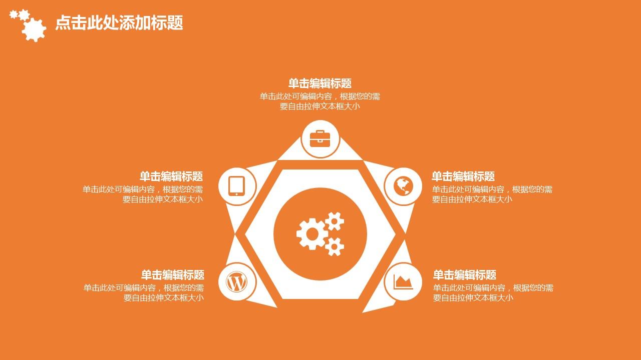 企业人力资源管理汇报PowerPoint模板下载_预览图22