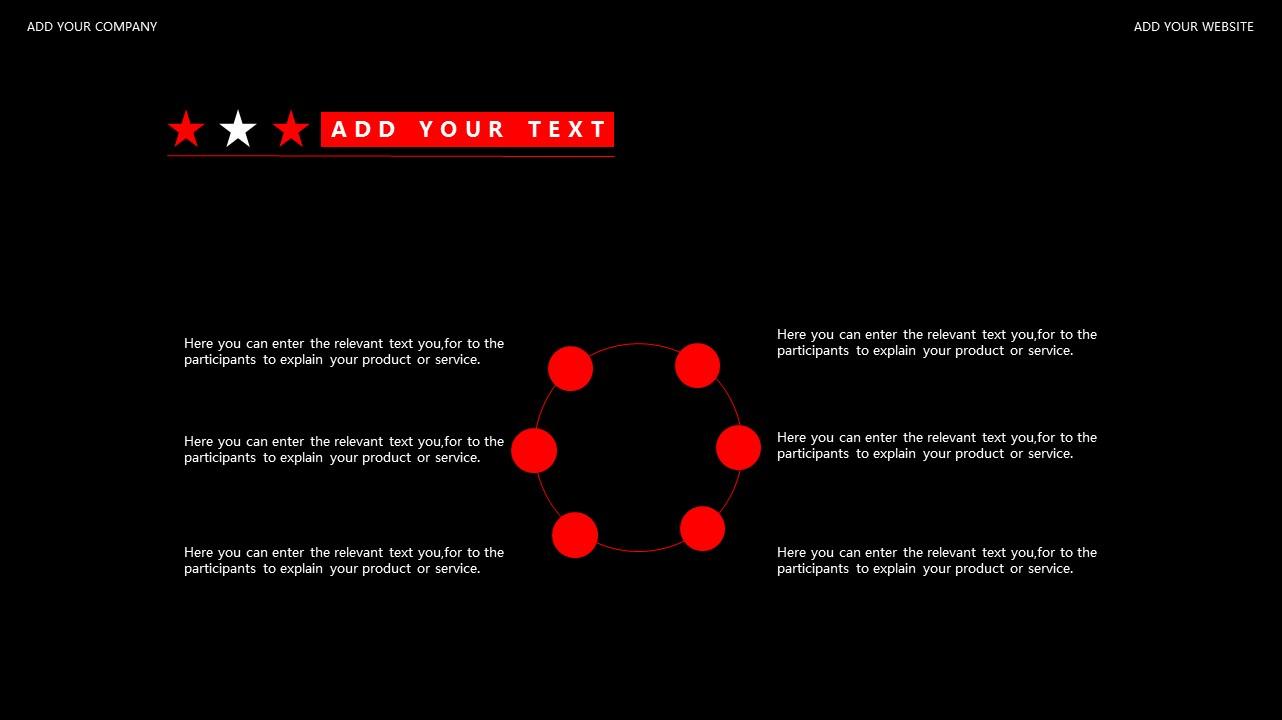 红与黑商务通用简洁PPT模板下载_预览图22