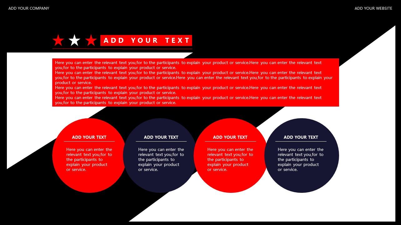 红与黑商务通用简洁PPT模板下载_预览图31