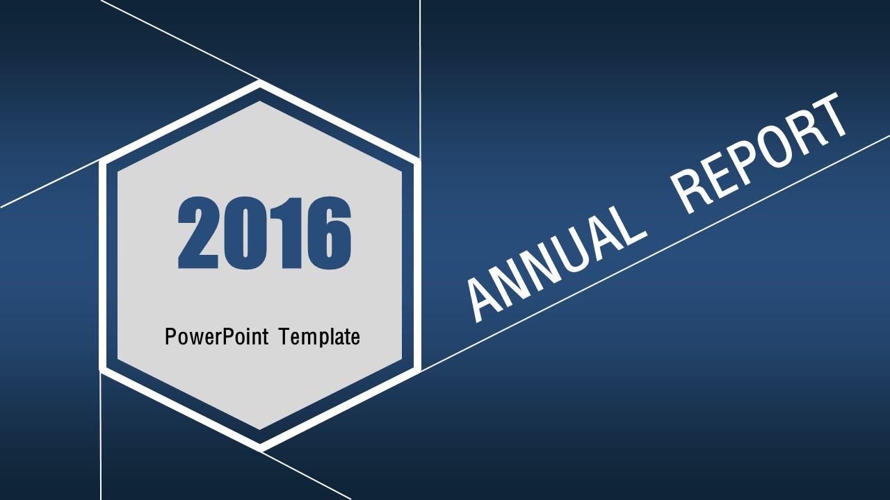年终总结报告商务通用PPT模板下载_预览图1