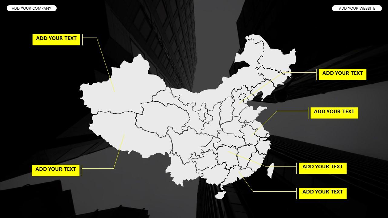 黑白时尚都市商务PPT模板_预览图27