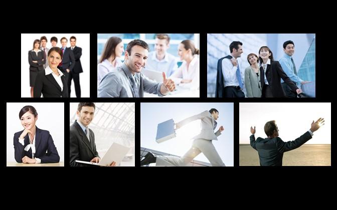 深蓝色商务通用PowerPoint模板下载_预览图24