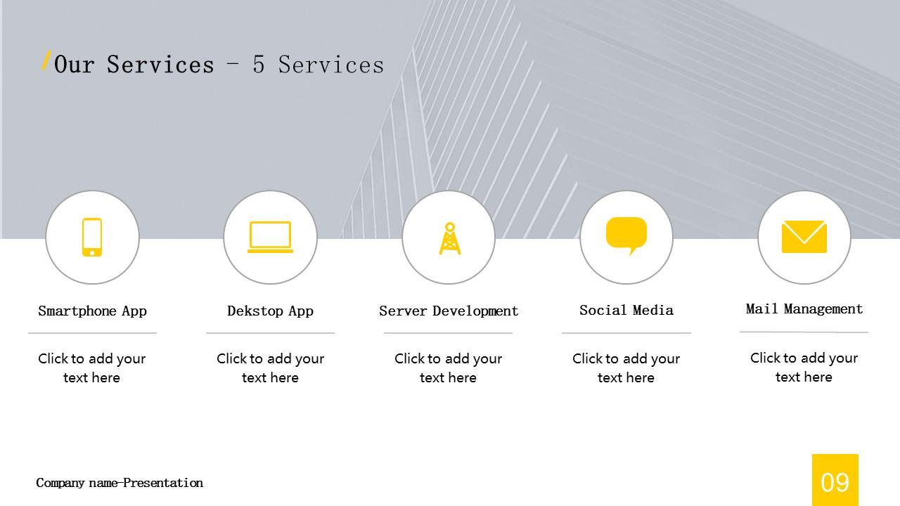 商务汇报工作总结简洁模板PowerPoint下载_预览图9