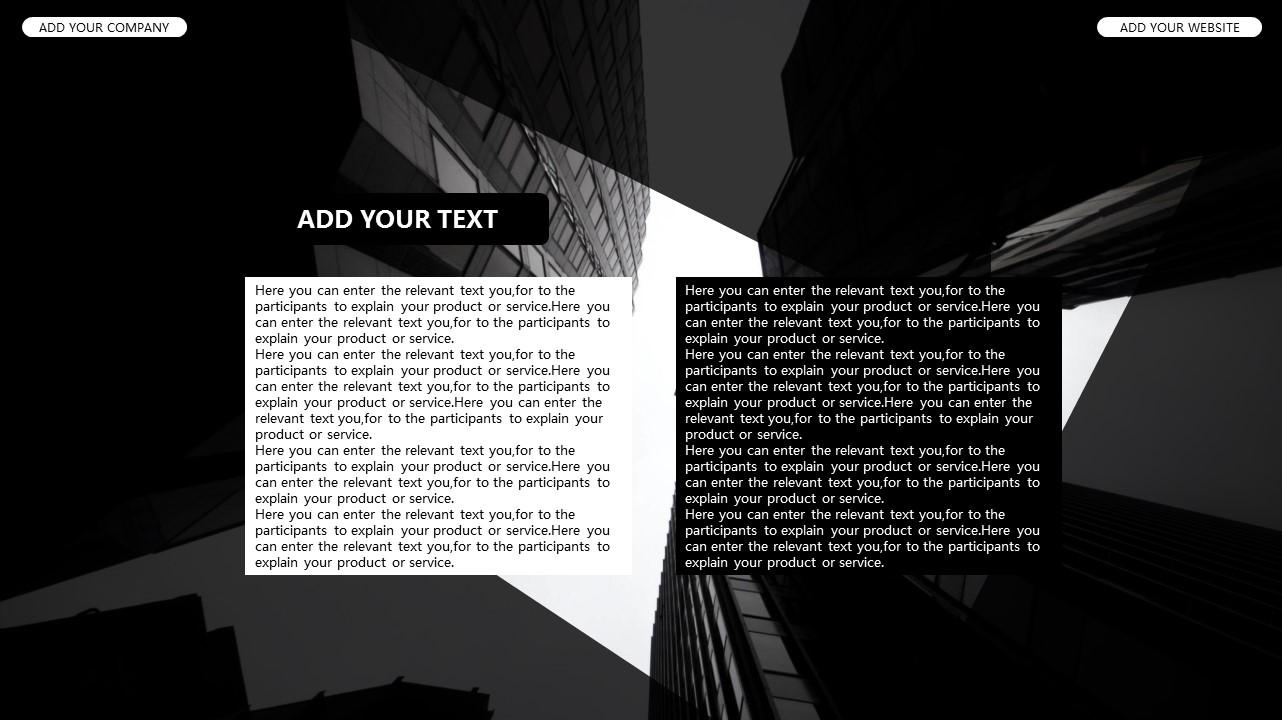 黑白时尚都市商务PPT模板_预览图11