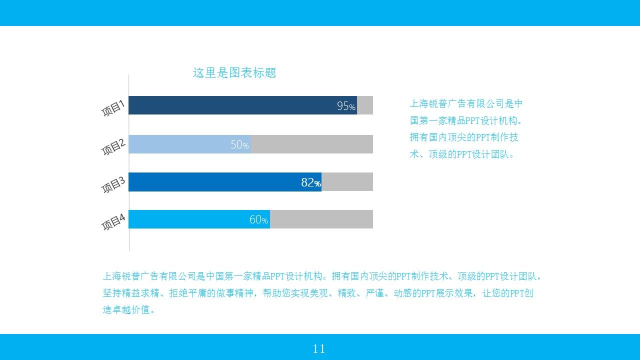 蓝色系商务PPT模板下载_预览图11