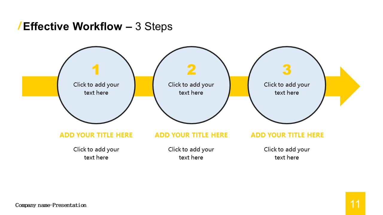 商务汇报工作总结简洁模板PowerPoint下载_预览图11