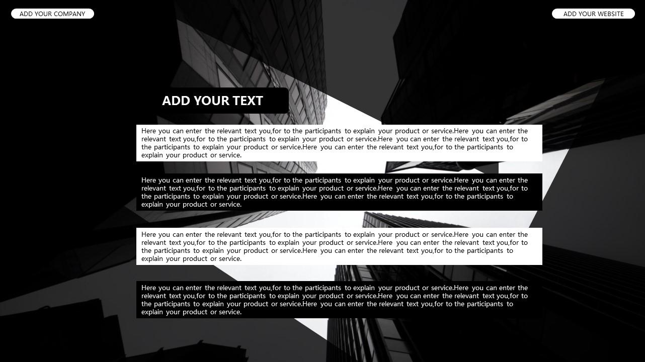 黑白时尚都市商务PPT模板_预览图31