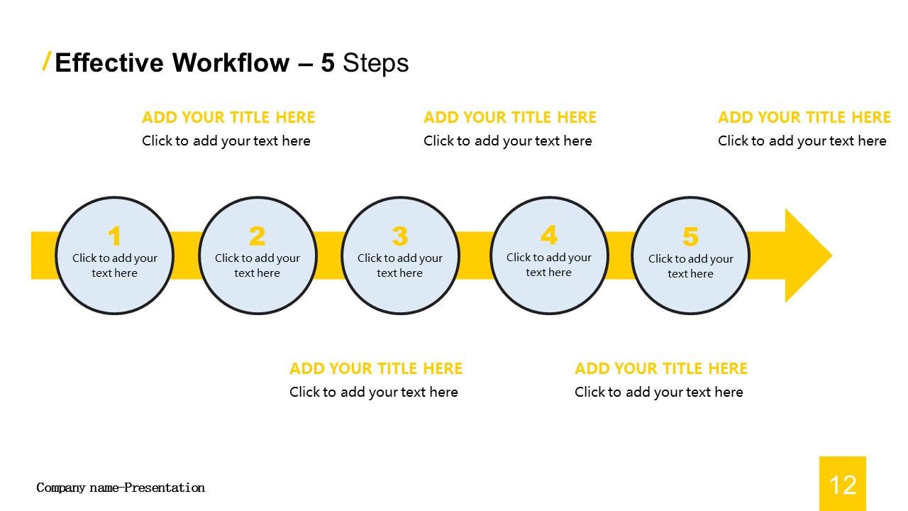 商务汇报工作总结简洁模板PowerPoint下载_预览图12