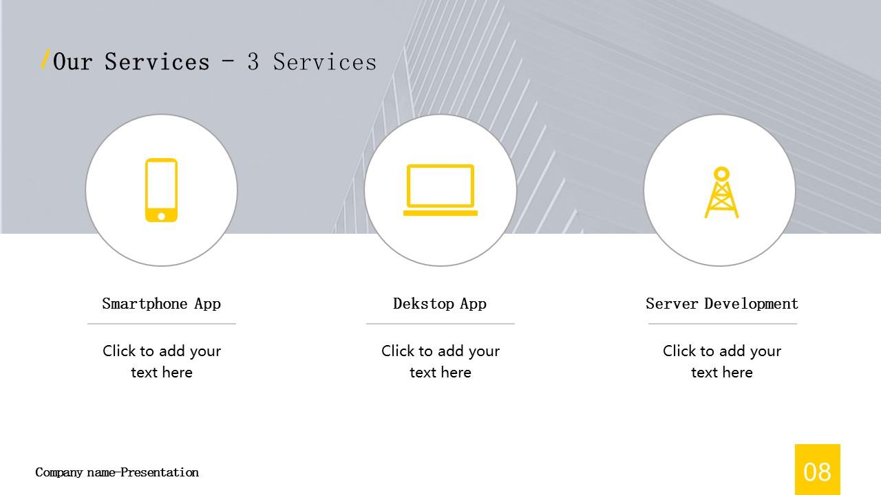 商务汇报工作总结简洁模板PowerPoint下载_预览图8