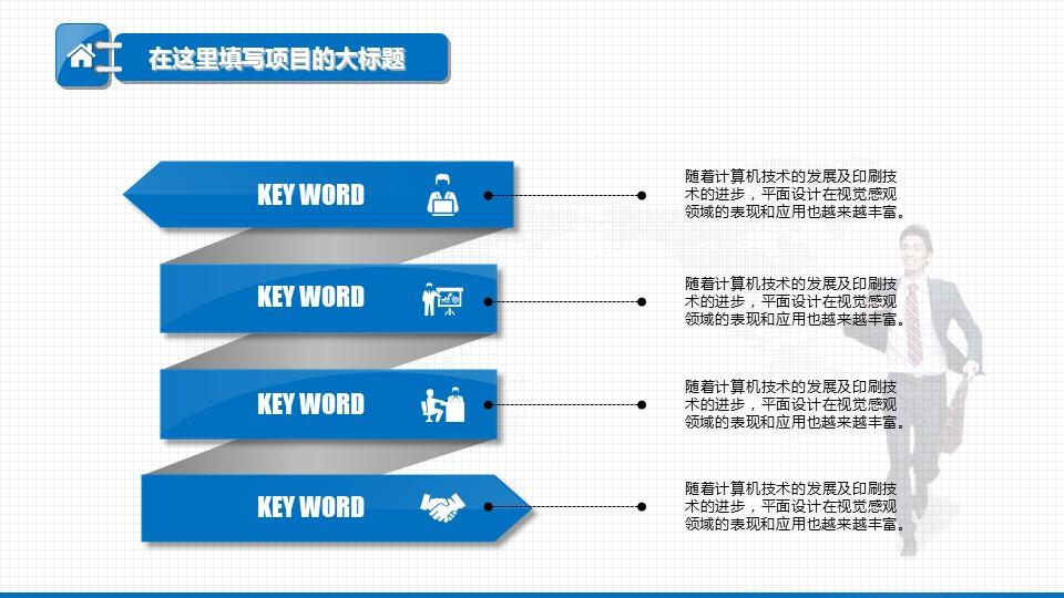 电子商务年终工作总结汇报PPT模板下载_预览图5