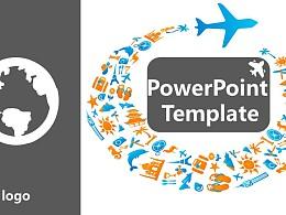 旅游景点介绍PowerPoint模板下载