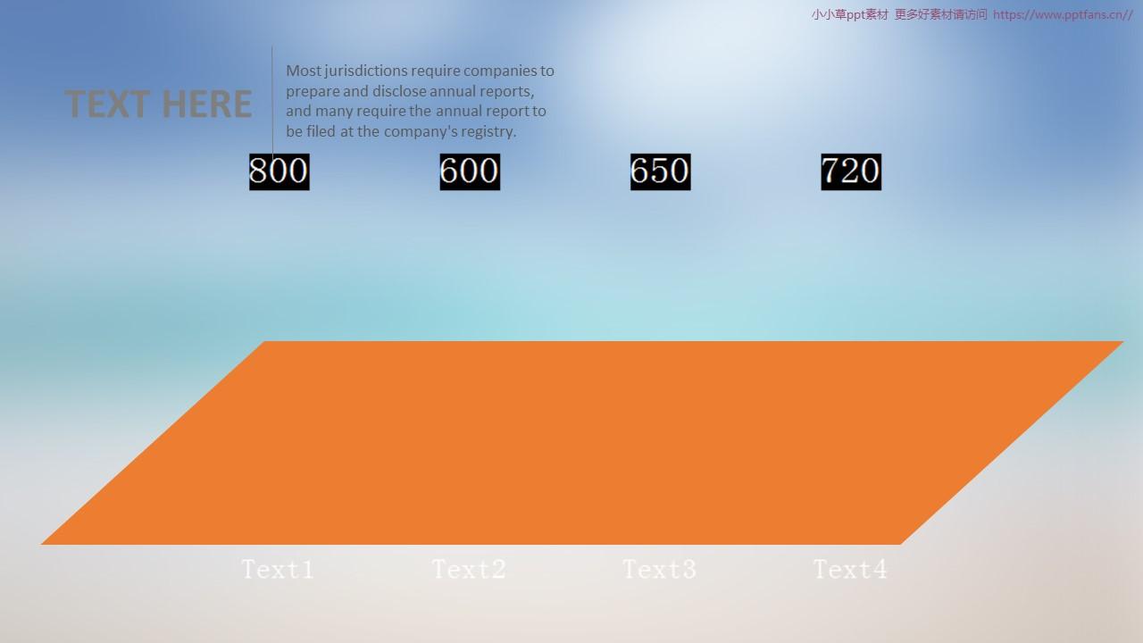 简洁图形图表汇总PowerPoint模板下载_预览图27