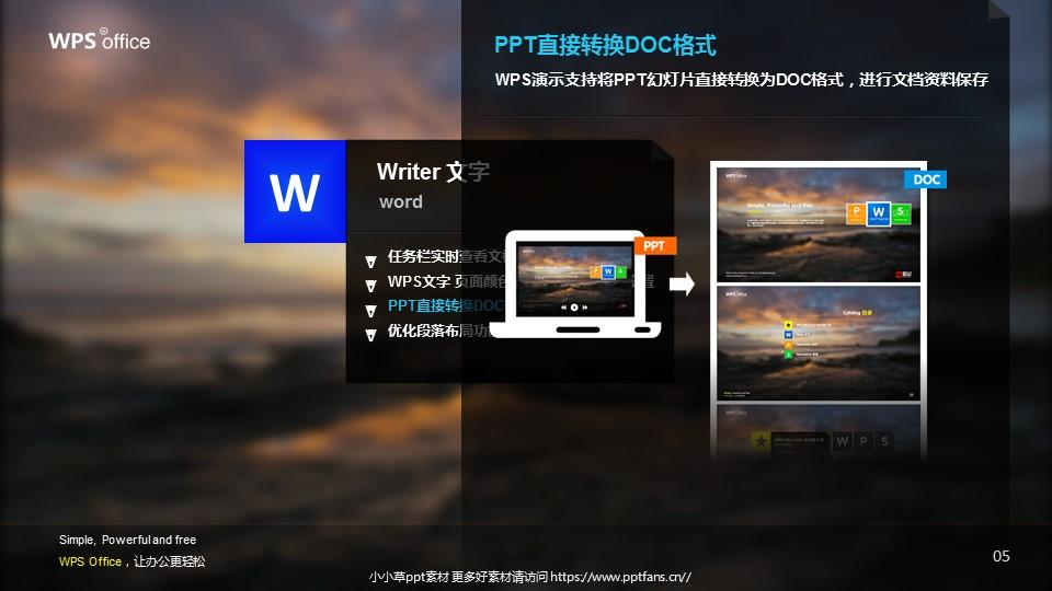 WPS宣传推广PowerPoint模板_预览图6