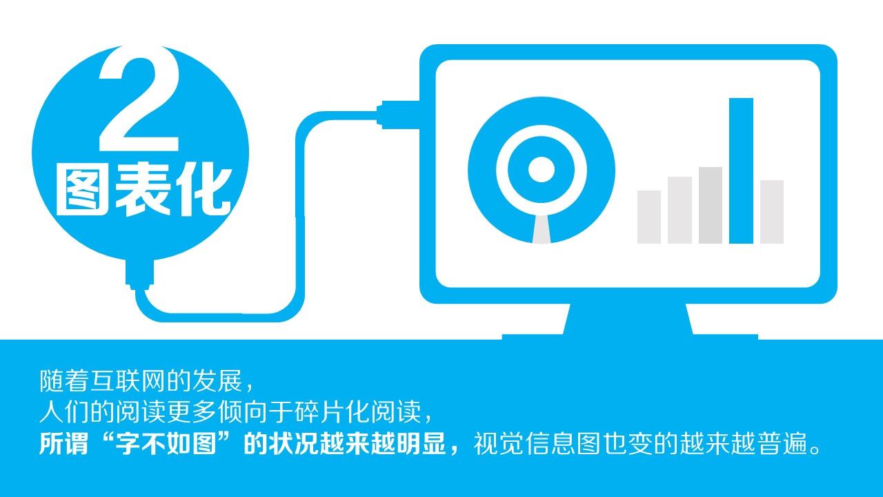 蓝色系产品发展趋势总结报告PPT模板下载_预览图4