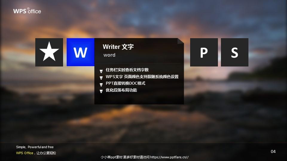 WPS宣传推广PowerPoint模板_预览图5