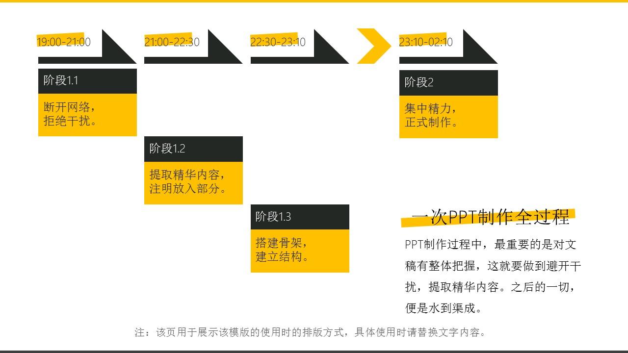 橙色系商务通用简洁模板_预览图6