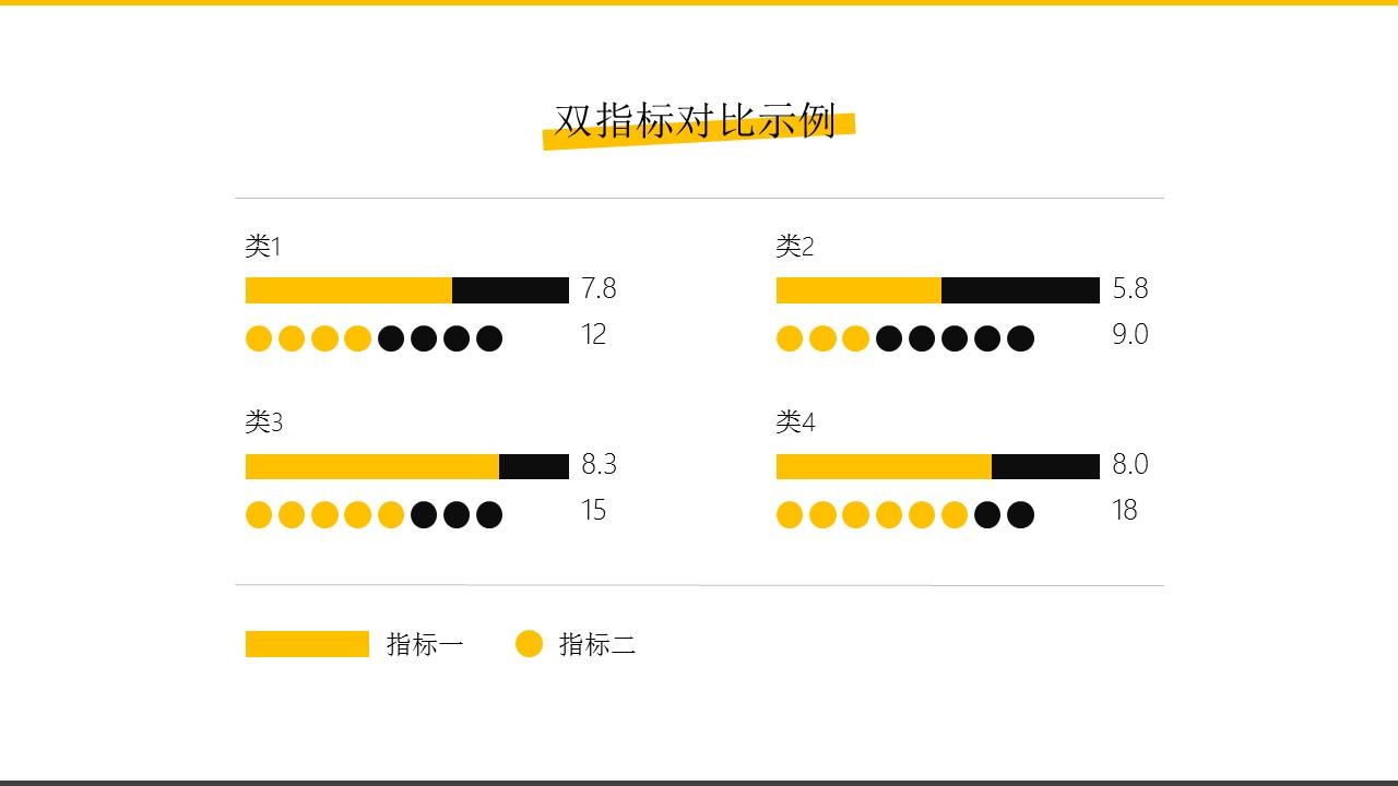 橙色系商务通用简洁模板_预览图9