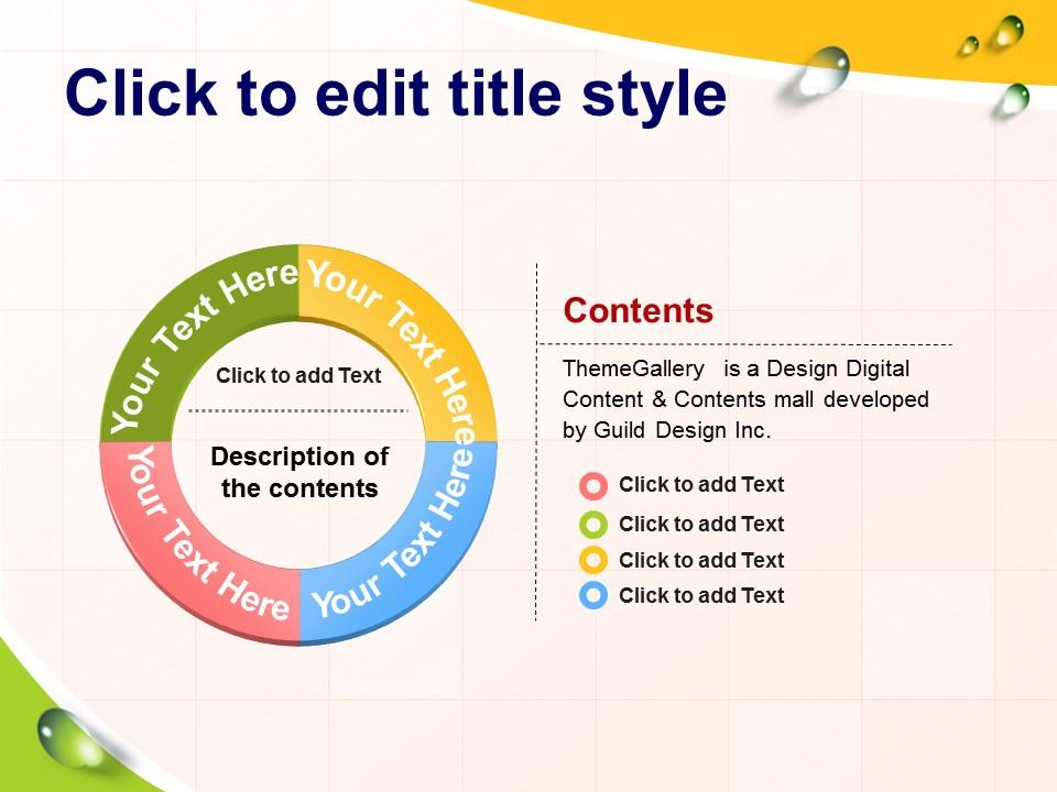 多彩英文课件PowerPoint模板下载_预览图4