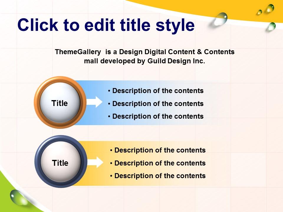 多彩英文课件PowerPoint模板下载_预览图8