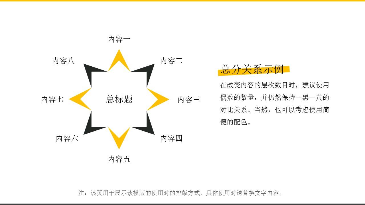 橙色系商务通用简洁模板_预览图10
