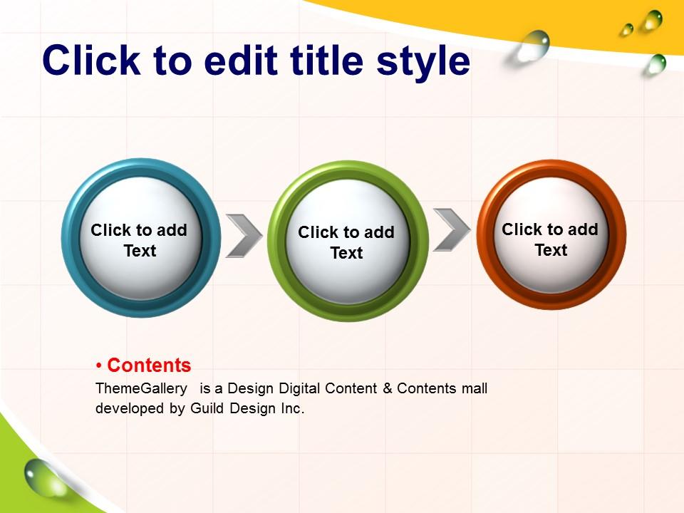 多彩英文课件PowerPoint模板下载_预览图5