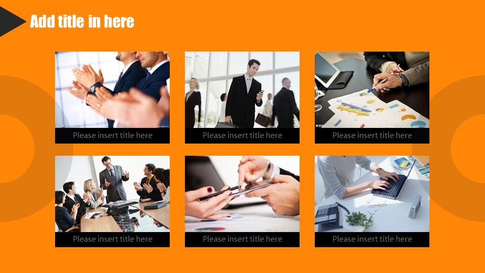 橙色系商务通用PowerPoint模板下载_预览图27