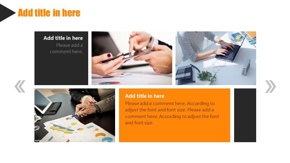 橙色系商务通用PowerPoint模板下载_预览图21