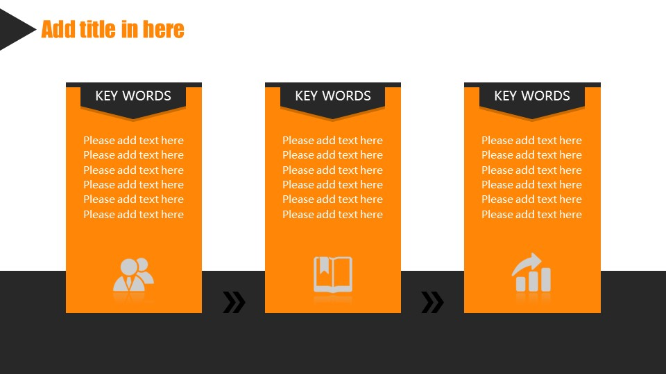 橙色系商务通用PowerPoint模板下载_预览图9