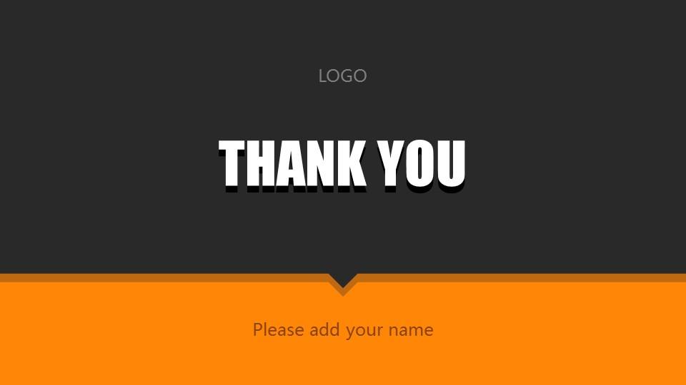 橙色系商务通用PowerPoint模板下载_预览图32