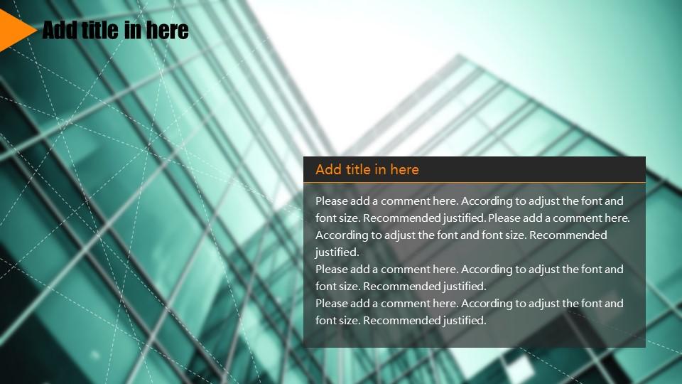 橙色系商务通用PowerPoint模板下载_预览图17