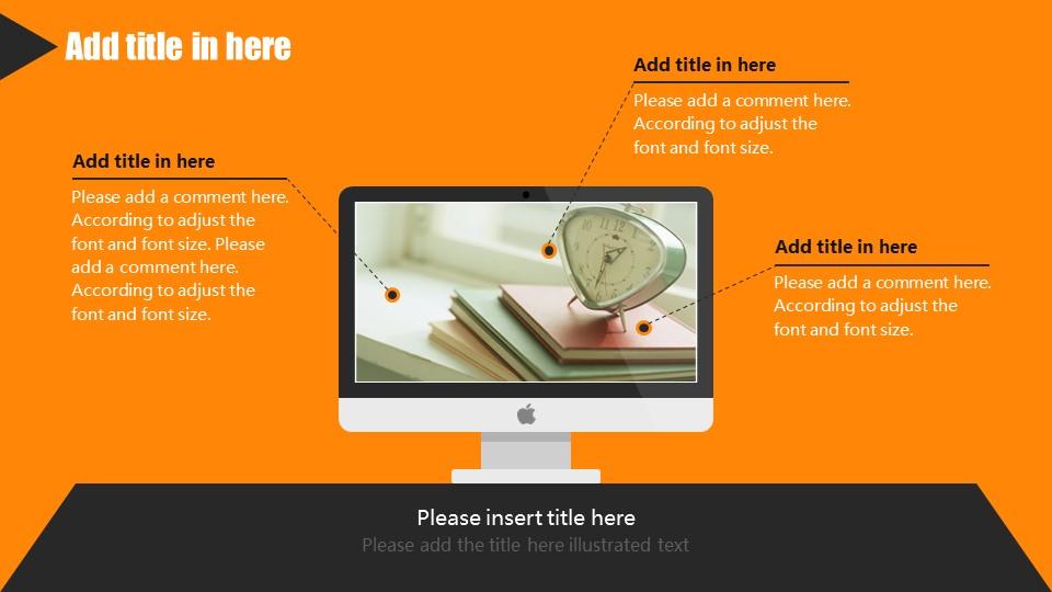 橙色系商务通用PowerPoint模板下载_预览图7