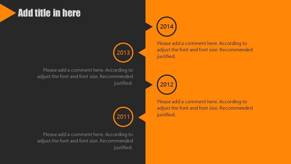 橙色系商务通用PowerPoint模板下载_预览图15