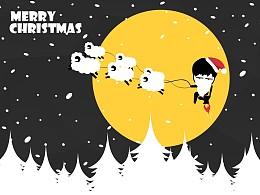 圣诞节主题PPT模板下载