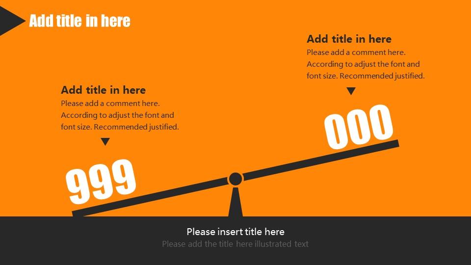 橙色系商务通用PowerPoint模板下载_预览图13
