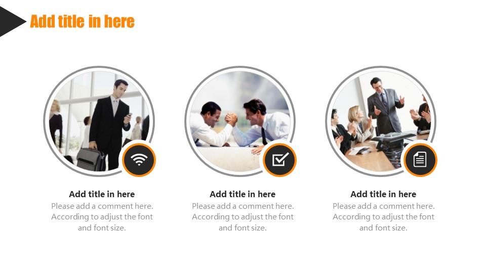 橙色系商务通用PowerPoint模板下载_预览图16