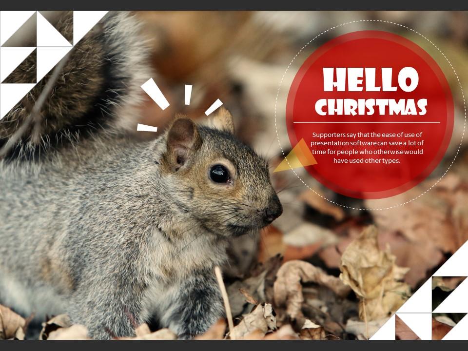 圣诞节主题PPT模板下载_预览图5