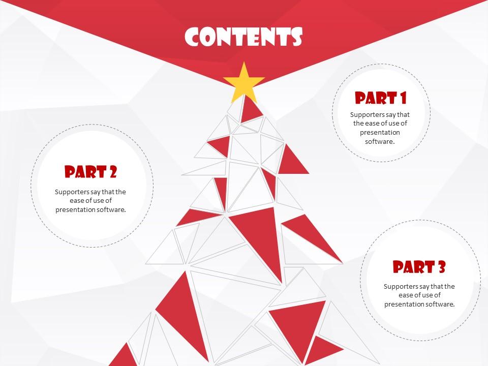 圣诞节主题PPT模板下载_预览图3
