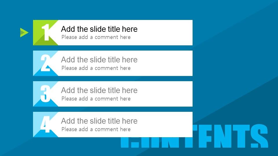 蓝色系项目策划PowerPoint模板下载_预览图3