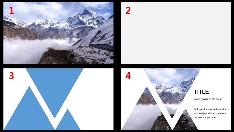 4种超赞的填充效果打造具有冲击力的PPT封面