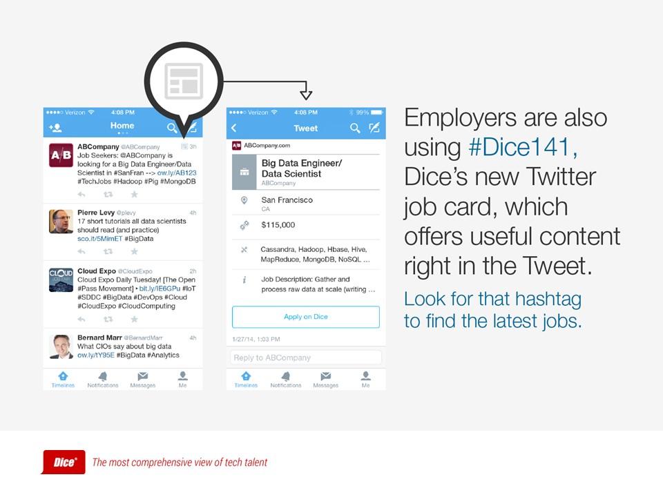 利用社交媒体求职的方案PPT模板下载_预览图3