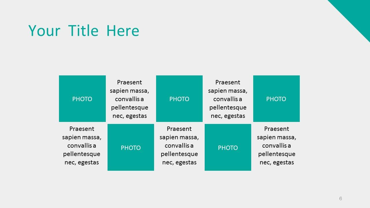 绿色系简洁商务PPT模板下载_预览图6
