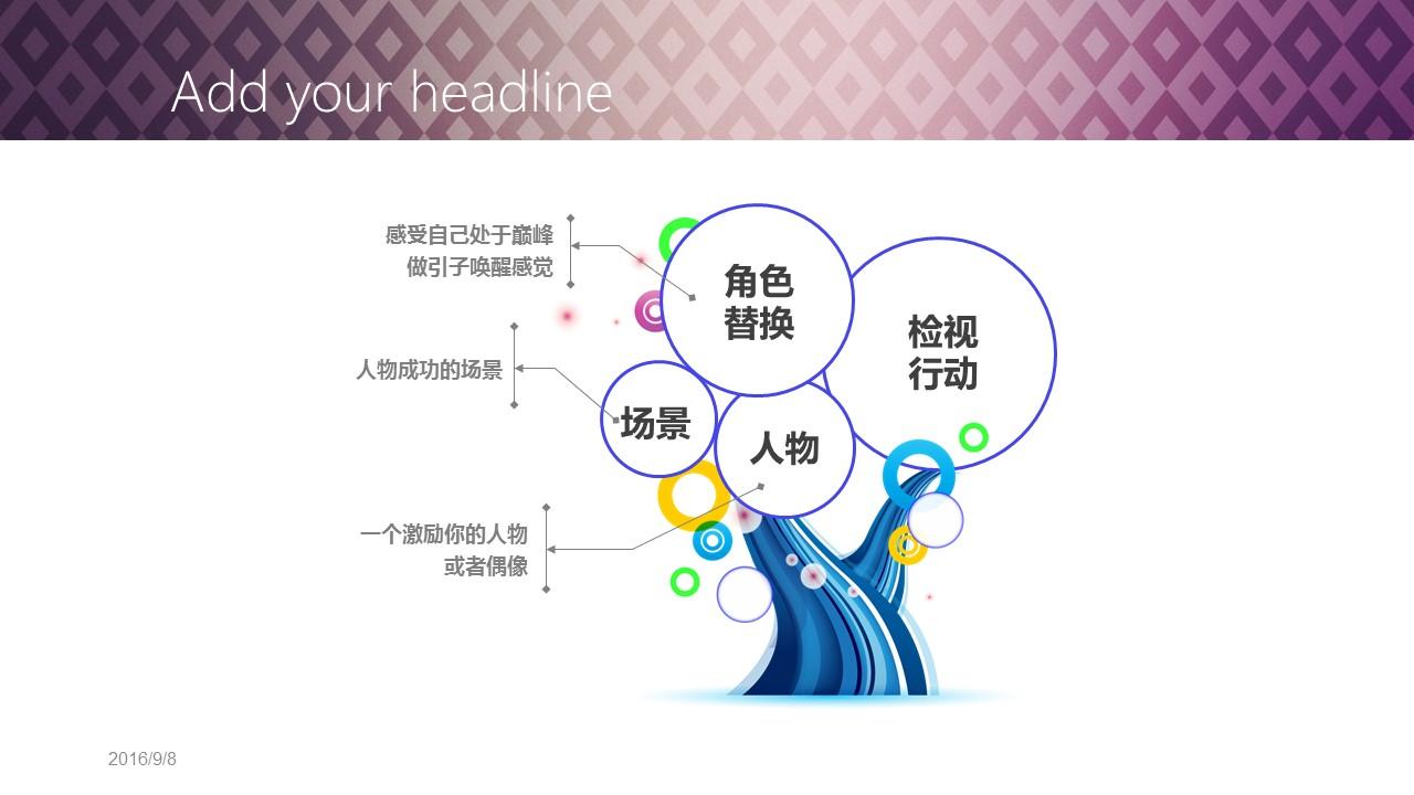高贵渐变紫商务PPT模板下载_预览图19